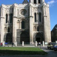 Saint Denis, la basilique-cathédrale, Сен-Дени