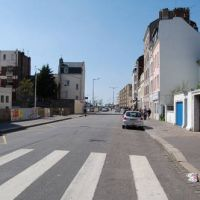 Rue Frédéric Bellanger - vers la mer - Le Havre, Гавр