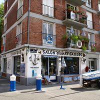Le Havre. A la fois un musée de la coiffure et un salon de coiffure bien réel ., Гавр