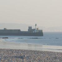 France: Le Havre - Lentrée du port et la plage, Гавр