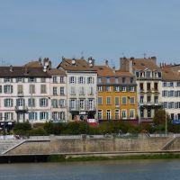 Maisons mâconnaise en bord de Saône, Макон