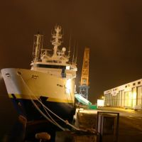 Le Thalassa un soir à Brest