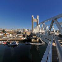 La Recouvrance bridge - The new lift span, Брест