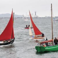 Brest 2012 - La flotille, Брест
