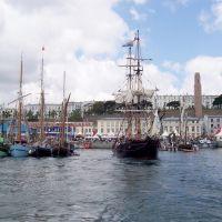 Brest, le port de commerce (fêtes 2004), Брест