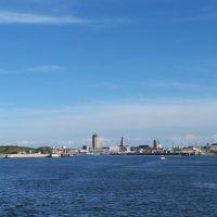 Entrée du port de Dunkerque, vue de la jetée Est, Дюнкерк