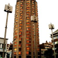 Dunkerque, tall building, Дюнкерк