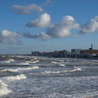 La mer du Nord, à Malo-les-Bains (Dunkerque), Дюнкерк