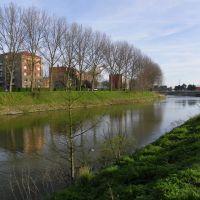 Coudekerque-branche - Le canal des Moères frontière avec Dunkerque, Дюнкерк