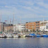 Dunkerque - Vue panoramique sur le port de plaisance, Дюнкерк
