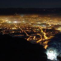 Noční Liberec z Ještědu, Либерец