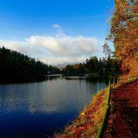 Harcovská přehrada, Liberec, Либерец