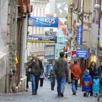 a street, Либерец