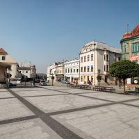 Karviná - Masarykovo náměstí - View NW, Карвина