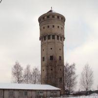 vodárenská věž v Karviné v únoru 2005, Карвина
