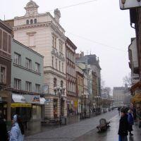 Street in Opava, Опава