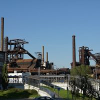 Old blast furnace in Vitkovice, Острава