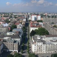 View from Ostrava - Town hall, Острава