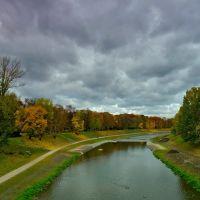 Ostrava - Ostravice river, Острава