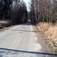 road to Hlubočec from Výškovice, Фрыдек-Мистек