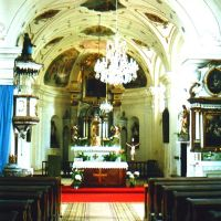 Augezd (Ujezd) renovierte Kirche 1991, Преров