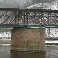Eisenbahnbrücke, Дечин