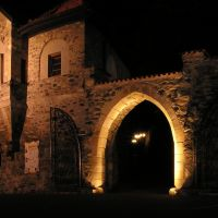 Noční Most - hrad Hněvín, Мост