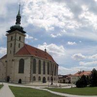 Most. Kostel Nanebevzetí Panny Marie, Мост