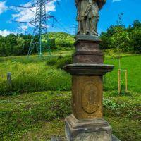 U Štěpánova (socha sv. Jana Nepomuckého), Теплик