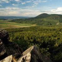 Vyhlídka na Štěpánovskou horu, Теплик