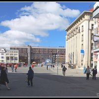 Usti nad Labem_Peace square, Усти-над-Лабем