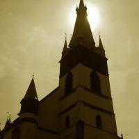 Kostel Nanebevzetí Panny Marie ( se šikmou věží), Усти-над-Лабем