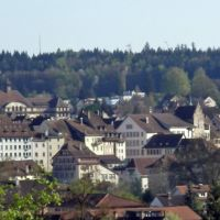 Aarau / view from Romberg, Аарау
