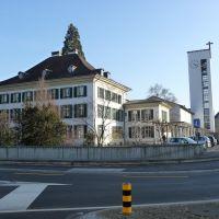 Pfarrhaus & Kirche Peter & Paul, Aarau, Kanton Aargau, Switzerland, Аарау