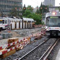 2 WSB Züge abfahrtbereit: nach Menziken & nach Schöftland, Аарау