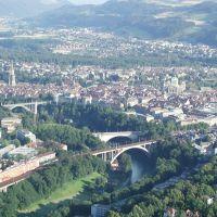 Aare-Brücken bei Bern, Берн
