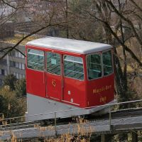 Die Marzili-Standseilbahn in Bern/The Marzili Cable Car In Bern, Берн