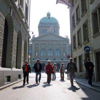 im Käfiggässchen vor dem Bundeshaus (Fotowalk durch Bern), Кониц
