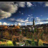 bern, autumn silhouette © weggi.ch, Кониц