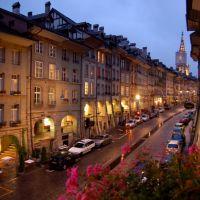 Gerechtigkeitsgasse desde el Hotel Belle E, Кониц