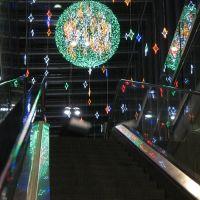 (messi07) Nordhalle Bahnhof Bern – Weihnachtsdekoration [250°], Кониц