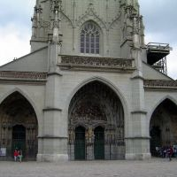 SUIZA Catedral Berna, Кониц
