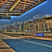 Neuchatel Gare HDR (8th May 2008) by www.swiss-pics.ch, Ла-Шо-Де-Фонд