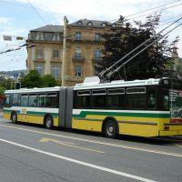 trolleybus à Neuchâtel, Ла-Шо-Де-Фонд
