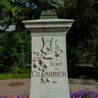 Buste dAlice de Chambrier (1861-1889), Ла-Шо-Де-Фонд