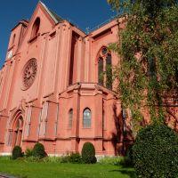 Basilique Notre-Dame (Cathédrale rouge), Ла-Шо-Де-Фонд