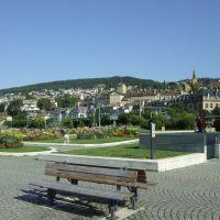 Neuchâtel, Place Pury (darunter befindet sich eine große Tiefgarage!), Ла-Шо-Де-Фонд
