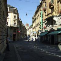 Neuchâtel, in der Altstadt, Ла-Шо-Де-Фонд