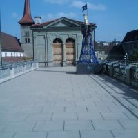 Ein Gebäude in Fribourg, Фрейбург