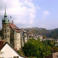 Fribourg .Spacerek, Фрейбург
